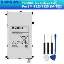 SAMSUNG Bateria Original T4800E T4800U T4800C T4800K Para Samsung Galaxy Tab 8.4 Pro em SM-T321 T325 T320 T321 4800mAh