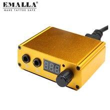 Электропитание для тату emalla цифровая двойная машина электропитание