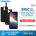 DOOGEE S90C IP68 модульный прочный мобильный телефон 6 18 дюймов дисплей 12V2A 5050 мАч Helio P70 Восьмиядерный 4 Гб 64 Гб 16MP + 8MP Android 9 0
