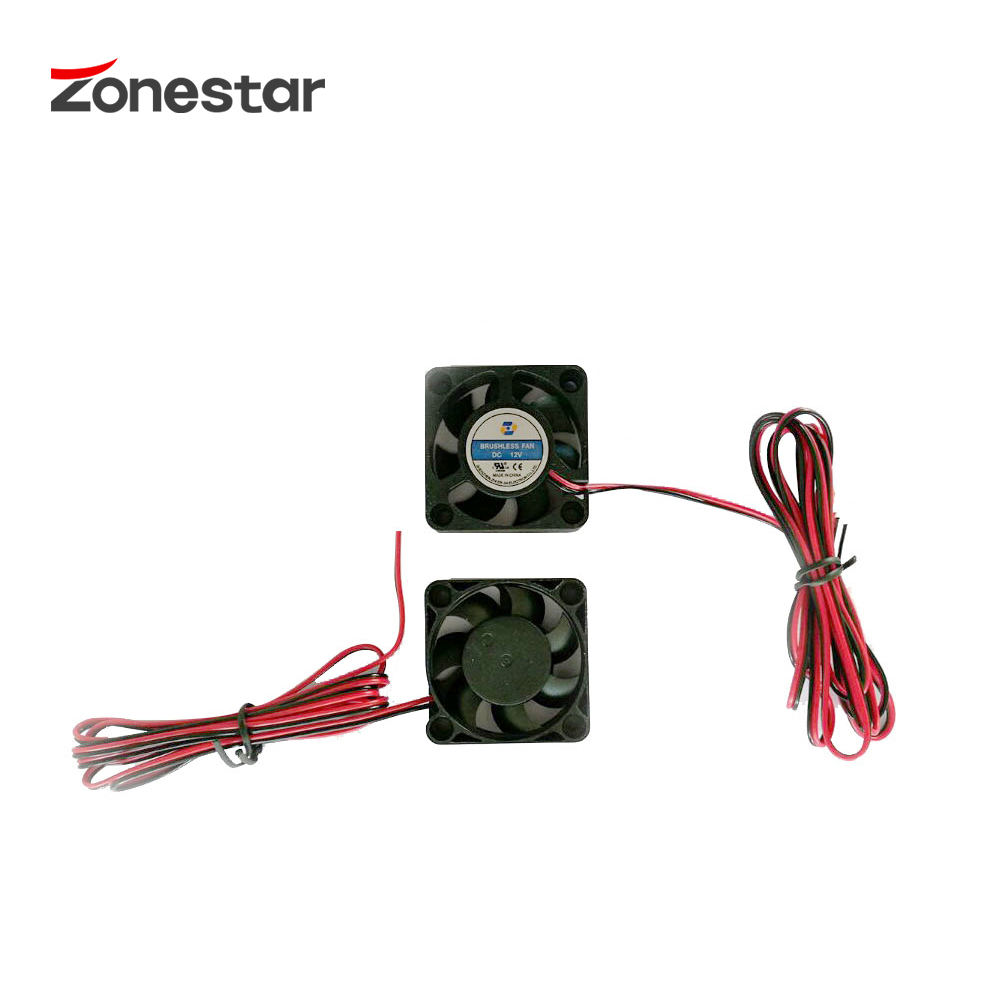 ZONESTAR Extruder Soyutma fanatı 40x40x10mm DC12V DC24V Cari 0.12A - Ofis elektronikası - Fotoqrafiya 4