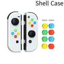 100% Новый оригинальный обновленный синий L левый и Красный R Правый джойстик контроллер для NS Nintendo Switch JoyCon геймпад джойстик