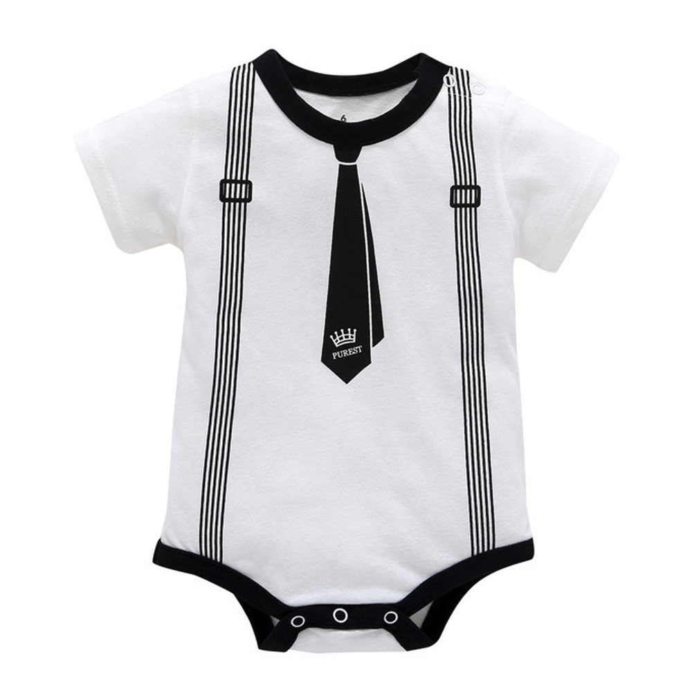 Baby Boy Girls Toddler Romper Infant Kids Spring Autumn Print Striped Clothes Casual Romper Playsuit Jumpsuit Innrech Market.com