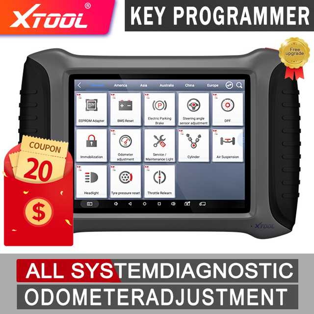 XTOOL A80 Full System Car Diagnostic Tools Automotive OBD2 Code Reader XTOOL H6 Diagnostic scanner lifetime Free Update Online