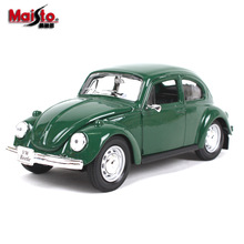 Maisto 1:24 Beetle Vintage Alloy car model die-casting model car simulation car decoration collection gift toy maisto 1 24 nissan gtr alloy car model die casting model car simulation car decoration collection gift toy