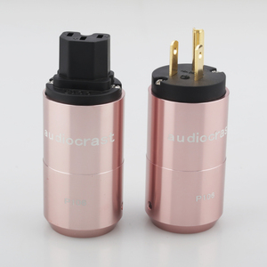 Image 5 - Audiocrast paire P106G plaqué or connecteur dalimentation américain + connecteur IEC prise dalimentation câble dalimentation ca US prise bricolage