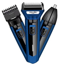 3 in1 Men's electric shaver clean face trimmer rechargeable