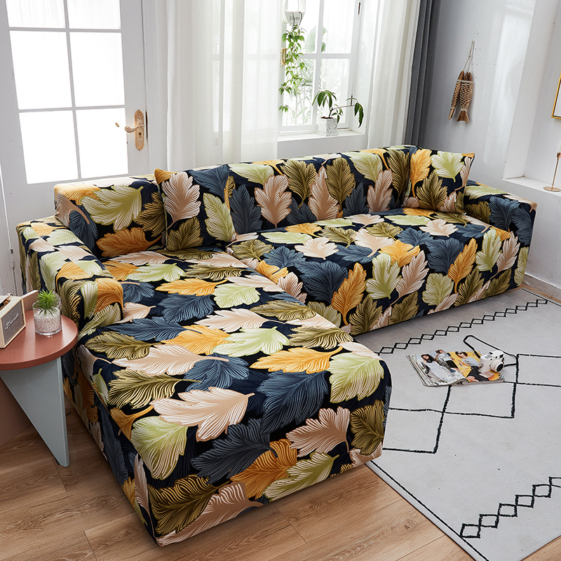 Эластичные чехлы для диванов гостиной Нескользящие эластичные