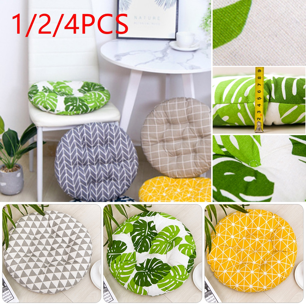 Cushion-Pad Chair Office-Bar Home-Seat Round Thick Cotton Winter 1/2/4pcs title=