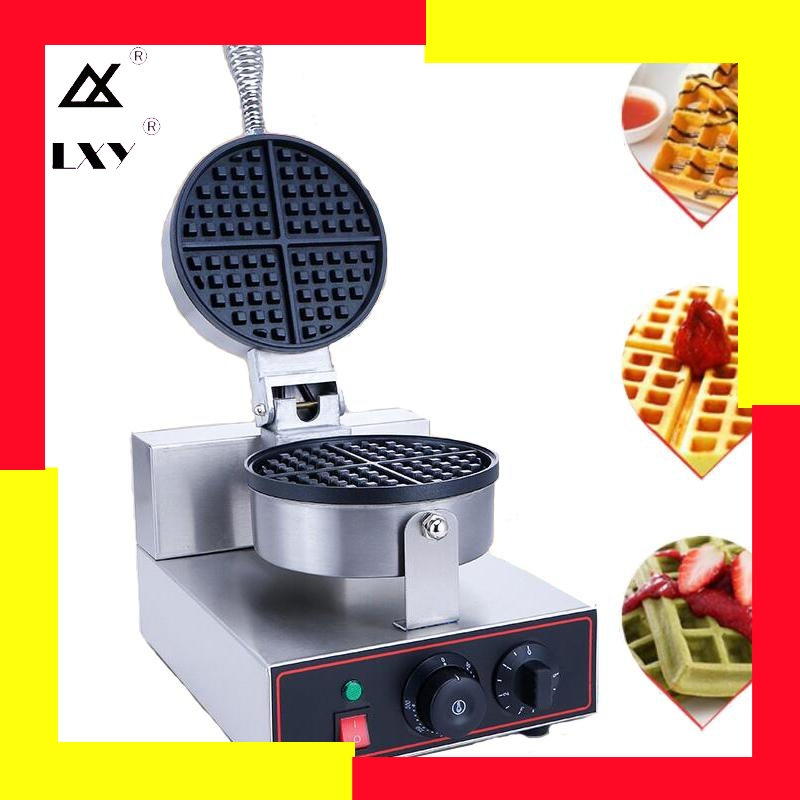220V/110V EU US Plug Commercial Waffle Maker Waffle Oven <font><b>Electric</b></font> Pancake Breakfast Scone Snack image