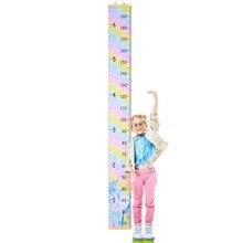 Домашний декор, настенная подвесная мультяшная линейка для измерения роста, деревянная детская линейка для роста, Настольная Настенная Наклейка