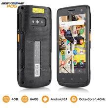 IssyzonePOS Прочный Android 8,1 КПК ручной pos терминал Zebra 4710 сканер штрих кода 2D NFC 4G WiFi считыватель штрих кодов сборщик данных