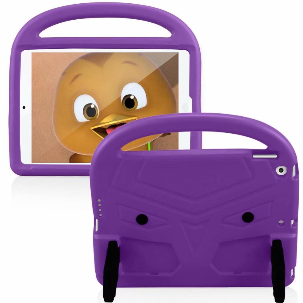 Purple Pink EVA Silicon Coque for iPad Pro 11 2018 2020 Case Kids Cartoon Bird Shockproof A1980 A2230
