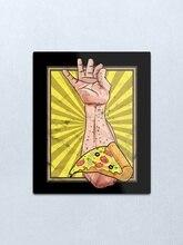 Подарочная Футболка с принтом соли и пиццы, жестяной винтажный металлический настенный знак, табличка в стиле ретро, гаражный сарай, автомо...