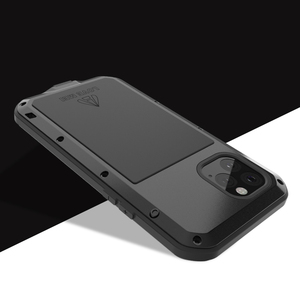Image 3 - Love Mei Metal Case For iPhone 11 Pro Max Rugged Armor Cover Coque For iPhone 11 Pro Max Shockproof Phone Case Anti Fall Fundas