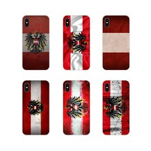 For Huawei G7 G8 P8 P9 P10 P20 P30 Lite Mini Pro P Smart Plus 2017 2018 2019 Transparent Soft Cover Austria National flag emblem(China)