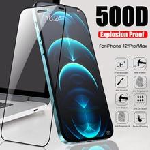 Protetor de tela para iphone 12 pro max mini vidro temperado 11pro max 7 8 plus xr xs max x 12pro 11 pro max película protetora 128gb