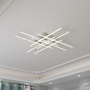 Image 4 - Modern Led Chandelier Lighting For Living room Bedroom Restaurant kitchen Ceiling Chandelier Chrome Plating Indoor lighting