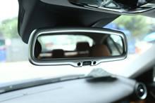 Автомобильная хромированная рамка для зеркала заднего вида из
