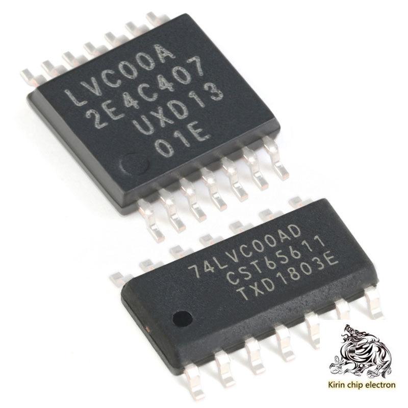 20 pçs/lote 74LVC00AD 74LVC00APW 4-way 2 entrada e não-portão remendo chip de lógica