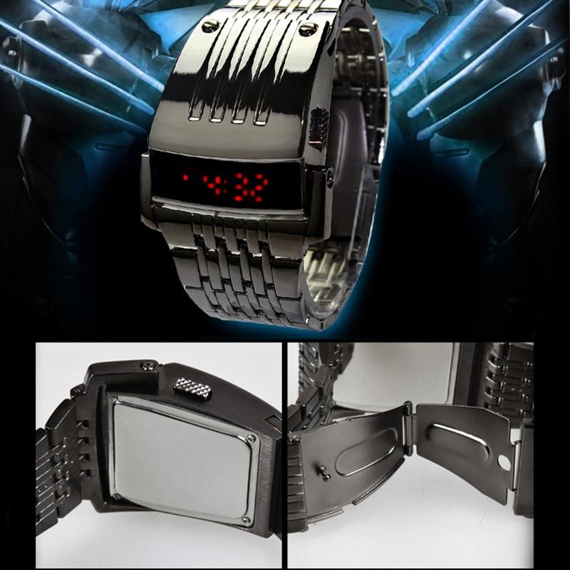 Men's Binary LED Digital Wrist Watch Father's Day Fashion Creative Gift FEA889