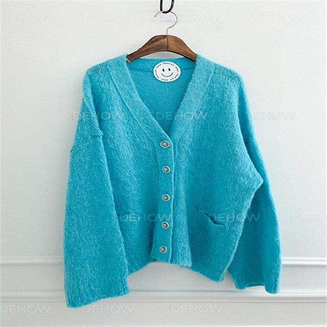 Купить женское однотонное платье свитер в корейском стиле элегантное картинки цена