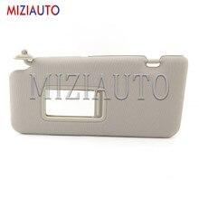 Pare-soleil intérieur pour Nissan Tiida 2005 – 2010, pièces de voiture, accessoires, pare-brise avant gauche, Kit de miroirs