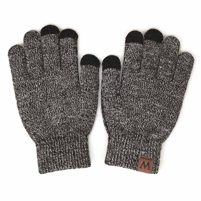 YEABIU, зимняя женская шапка, шарф, перчатки, набор, теплые, для девушек, Skullies Beanies, шапка, Infinity, для мужчин, шапка с сенсорным экраном, перчатки, набор для женщин - Цвет: blue2