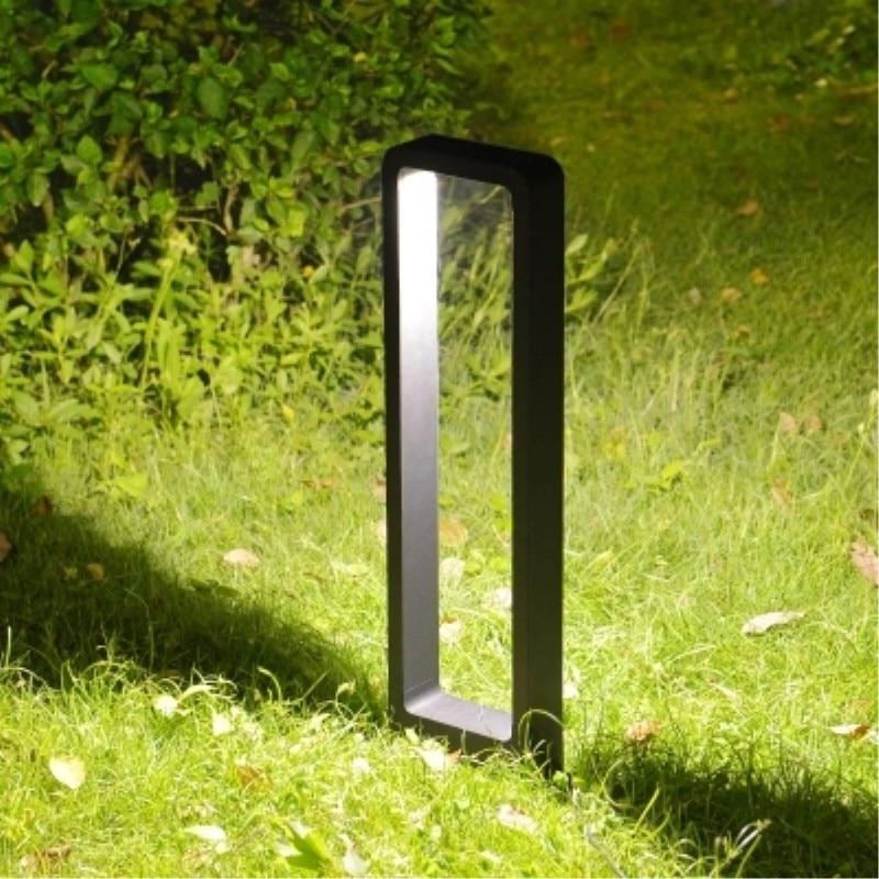 10W LED césped luz exterior impermeable de aluminio césped luz paisaje Jardín de la comunidad patio villa pradera camino luces