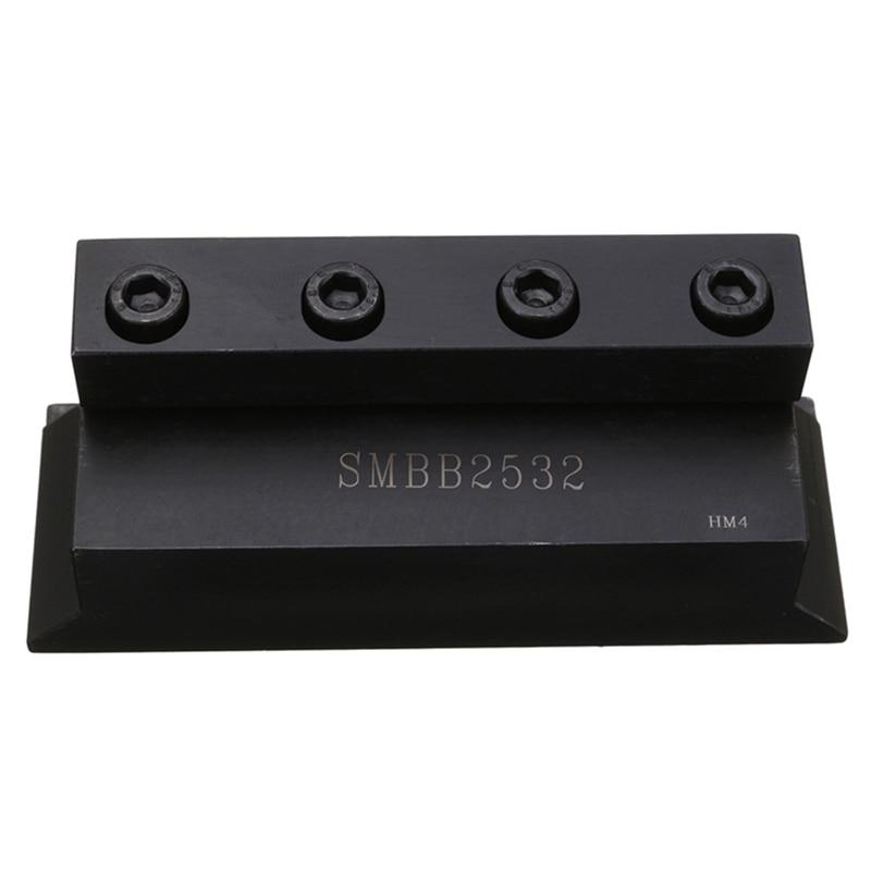 1Pc Smbb2532 support de lame de coupe 25Mm pour outil de coupe de tour pour CNC outil de fraise diamètre extérieur porte-outil de coupe