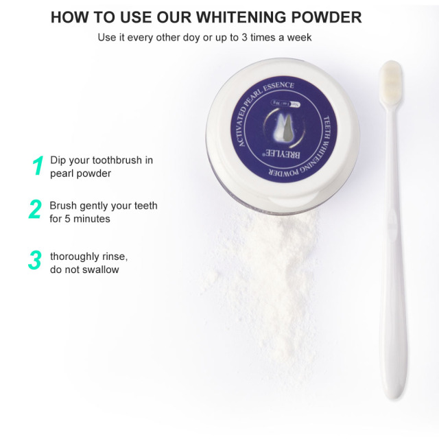 Teeth whitening powder Pearl essence Natural toothpaste Oral hygiene to remove stains