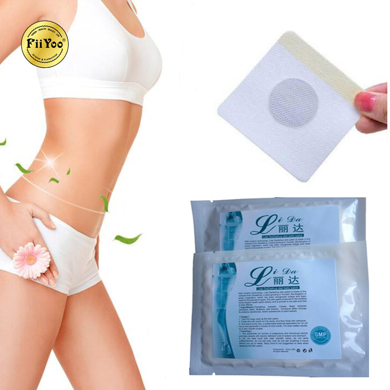 LIDA Strong Old Formula Slim Patch Abdomen Fat Burning Adhesive Body Weight Loss Effective
