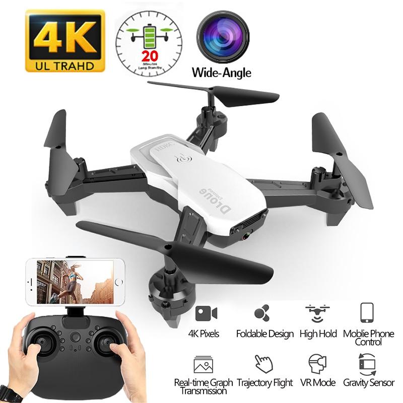 H22 RC Drone 4K HD caméra avec hélicoptère RC grand angle quadrirotor 1080P Drone professionnel suivez-moi Stable haute VS E58 SG106