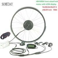 Nuevo https://ae01.alicdn.com/kf/H0146f7f4226641e894f7688f9c6ab23bh/Algún día kit de conversión de bicicleta eléctrica Cable impermeable 48V500W rueda del Motor del eje.jpg
