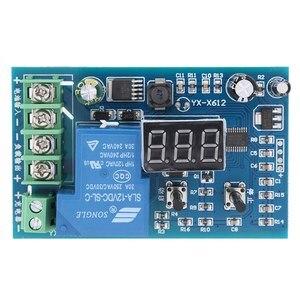 Модуль напряжения для аккумулятора 10 в-60 в 30 А, плата для зарядки аккумулятора, Контроллер защиты от перегрузки напряжения