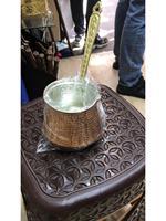 XxXXL Pote de Café Turco  Cezve  Ibrik  dissipadores de Cobre Martelado  Bule de Café  Jezve|Cafeteiras|   -