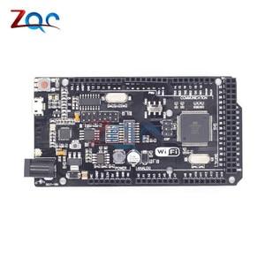 Mega2560 + WiFi R3 ATmega2560 + ESP8266 32Mb memory USB-TTL CH340G Compatible for Arduino Mega NodeMCU For WeMos ESP8266(China)
