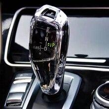 Autocollant de couvercle de pommeau de levier de vitesse, en cristal, pour Bmw F10 F11 F30 F15 F25 525 530 320 3 5 Series