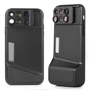 Image 1 - Bluetooth Phone Case Kit Camera Lens For IPhone X 6 in 1 Fisheye Wide Angle Macro Lens For iPhone X 10 Telescope Zoom Lenses