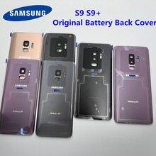 S9 オリジナルサムスンギャラクシー S9 プラス G960 G965 バックバッテリーハウジングケース + 接着剤防水接着剤