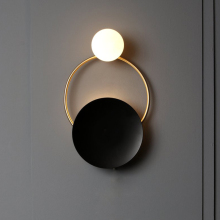 Bedside Lamps Lighting Sconce-Lights Fixture Hallway-Decor Nordic-Ring Bedroom Living-Room