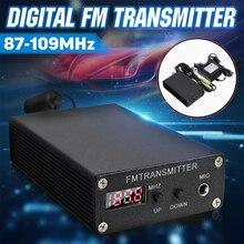 5ワットステレオデジタルfm fmラジオ送信機のミニfmラジオ局