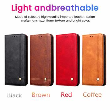Retro Magnetic Leather Flip Case For VIVO IQOO Neo 3 S5 VIVO Y17 X30 Pro X50 V17 V19 Wallet Holder Card Slot Stand Bag Cover Accessories Phone Covers