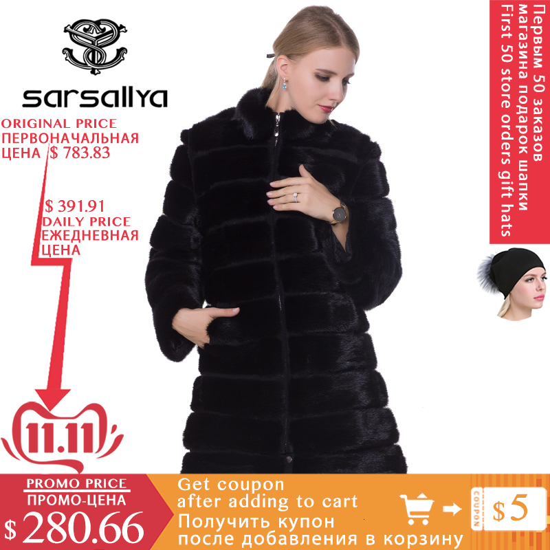 Real casaco de pele de vison inverno longo natural pele de vison casacos e jaqueta transformador preto quente roupas femininas 2019 vintage mais tamanho 7xl