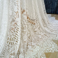 Fabrik Preis Französisch Chantilly Spitze Stoff 150x300cm pro Stück Wimpern Spitze Off white Dame Kleid, Der Spitze 2020 NEUE