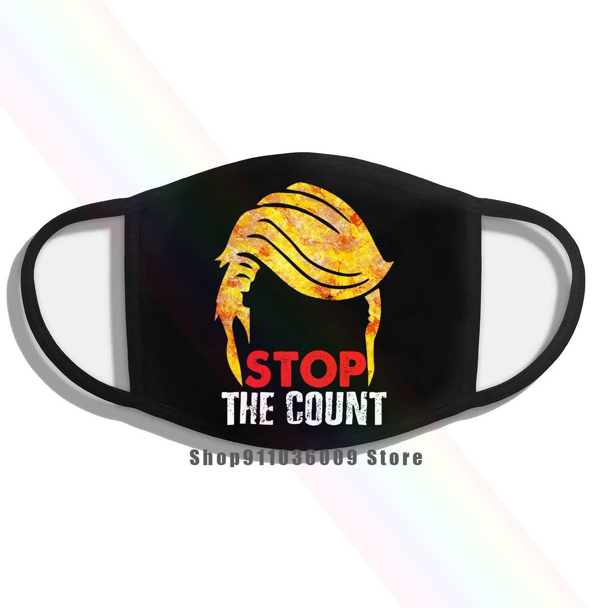 Trump cabelo 2020 parar a máscara de contagem