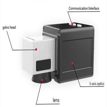 3d Scanning Galvanometer System CKLaser 3D Dynamic Galvo Head 1064nm for Raycus IPG Fiber Laser Marking Machine
