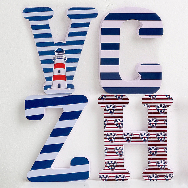 3D PVC Uppercase English Alphabet Letter Stickers Kid's Room Decoration Kindergarten Playground Nursery Decorative Letters 6