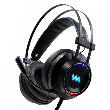 ZOP Gaming Headset with Mic LED Light Deep Bass Game Stereo Earphones Headphones for PC PS4 somic g954 usb 7 1 gaming headset headphones with microphone noise cancelling stereo bass vibration led light for pc ps4 gamer