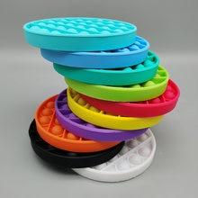Pop it gioco Bubble giocattolo sensoriale Push Fidget Pop ha bisogno di Squish adulto bambino divertente Pop antistress Fidget It stress Reliver giocattoli