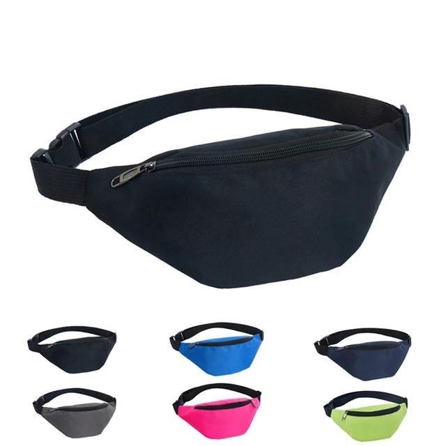 Women Fanny Pack 2018 Waist Bag Belt Bag Hengreda Travel Hip Bum Pocket 600D Waterproof Festival Party Sling Chest Daypack